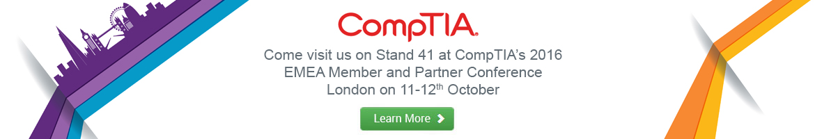 Banner - CompTIA's 2016 EMEA Member and Partner Conference