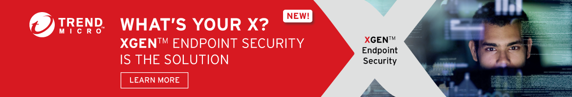 Banner - Trend Micro - XGEN Endpoint Security