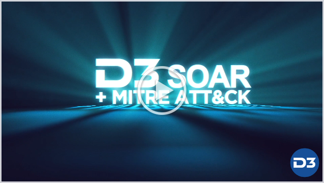 How D3 Uses the MITRE ATT&CK Framework for Intelligent Correlation Video